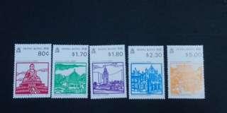 香港勝跡郵票