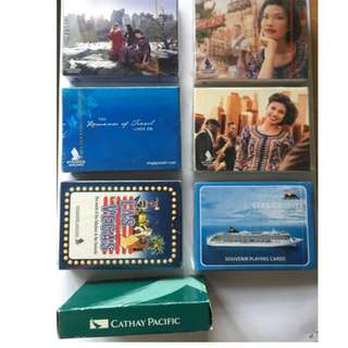 Airline poker cards