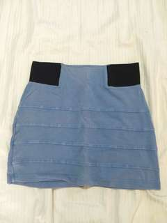 Topshop fitted skirt