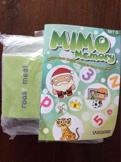 Shichida Mimo Memory Set D & F