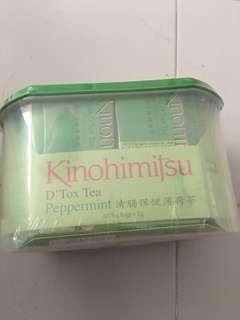 kinohimitsu D'tox tea Peppermint