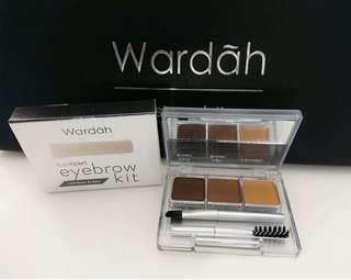 Wardah eyebrown kit