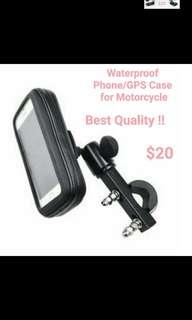 Waterproof Phone/GPS Case & Holder for Motorbike(Top Quality!)