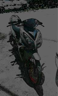 yamaha Lc v3 ...cover set x1r open swap with 125zr .. yg berminat pm