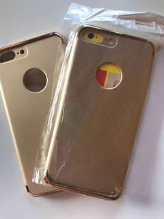 Gold iPhone 7 Plus cases FREE postage