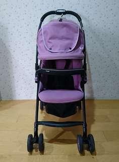 Combi 超輕量雙向手推車(紫)