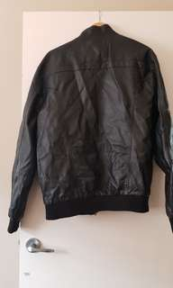 Leather hoodie jackets hoodies come off