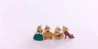 4 earrings