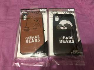 We Bare Bears iPhone X Case with Card Pocket