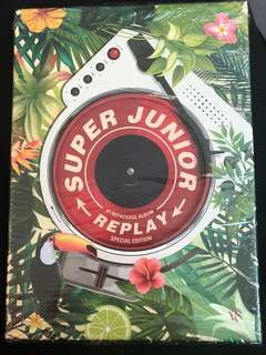 SUPER JUNIOR 8TH REPACKAGE SPECIAL EDITION - REPLAY