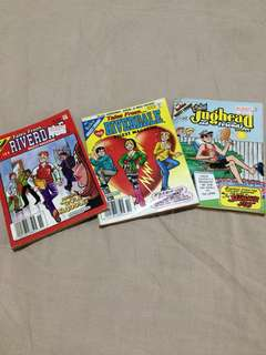 Set of 3 Archie Comic Books