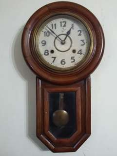 Antique Clock 55cm x 31cm