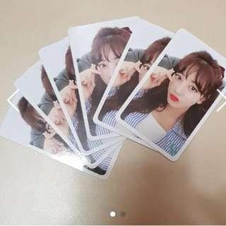 [Authentic] Jihyo Likey Photocard