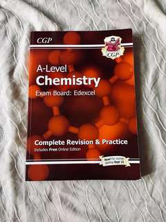 A Level Chemistry CGP