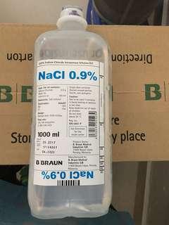 BRAUN SALINE 0.9% 1000ml