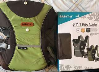 Baby 1st (3 in 1 Carrier)