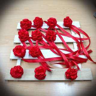 Wedding Wrist corsages and Boutonniere