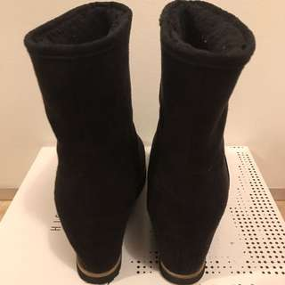 H&M Wedged Boots