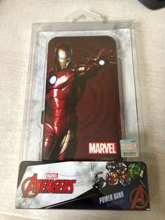 Iron Man Avengers 8000mAh 尿袋 power bank