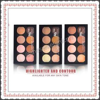 Ashley Highlighter and Contour Palette