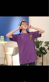 🚚 恐龍(紫色)短T