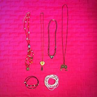 Fashion Accessories Bundle - Necklaces