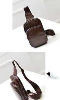 Tas selempang PU leather