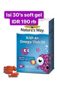 Nature Way Kids Omega 3 Fish Oil