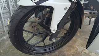 Rim honda rs150r with tyre black