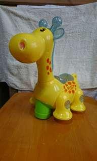 長頸鹿聲光玩具