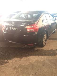 Honda city E spec 2012