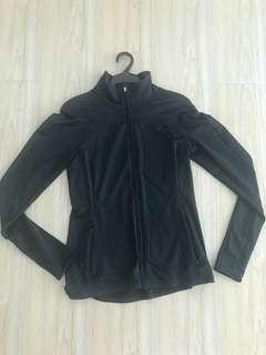 GAP Fit black dry fit shirt (zipper)