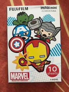 Avengers polaroid films
