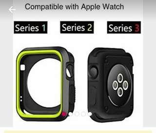 """Case bumper apple watch uk 38mm free ongkir, bisa tanya""""dinomor wa ane 089516448044"""