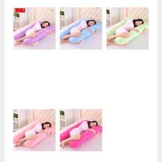 U Shaped Comfort Cotton Pregnancy Pillow Brand New