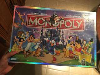 MONOPOLY DISNEY EDITION 2001
