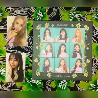 Unsealed Gugudan Act 2 Narcissus Album with Photocards and Poster