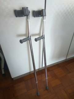 Crutches used (pair)