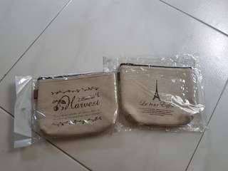 BN Fabric Pouches