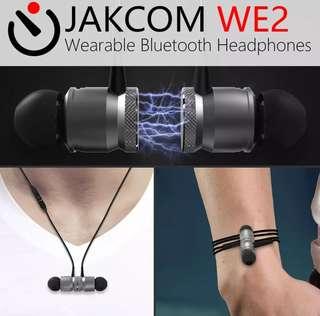 d0e8c3a199f BNIB WE2 Wireless Bluetooth Headset with Mic Magnetic Sports Earpiece  Earphones #Caroupay