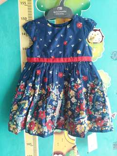 Dress baby mothercare NWT