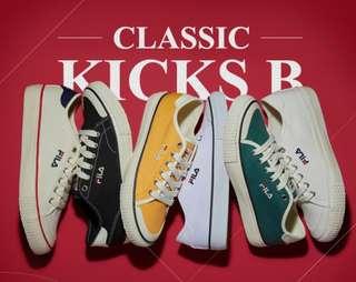 Fila Classic Kicks B White FS1SIA1035X_OWH NWT