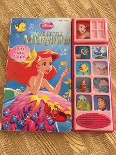 The little Mermaid loft the flaps book