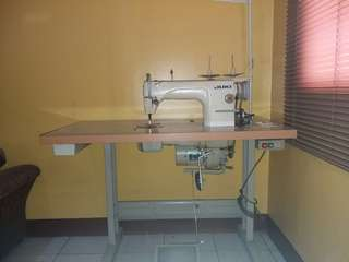 PACKAGE WITH FREEBIES Single and 4 Thread Industrial Sewing Machine