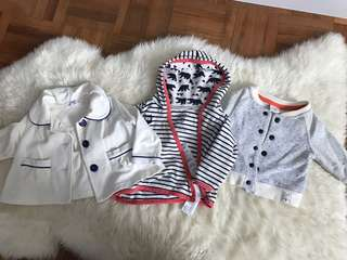 Baby Jacket 3 Sets