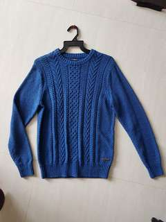 Sacoor brothers wool slim fit sweater