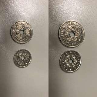丹麥流通貨幣3 krone(克朗)