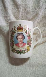 Vintage H.R.H The Queen's Golden Jubilee Mug