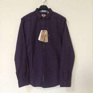 🚚 國外帶回 全新 正品 Levi's Levis 格紋襯衫