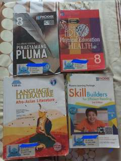 Grade8 Textbooks For Sale